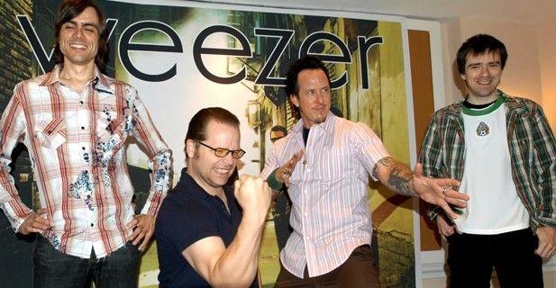 Weezer y the GOASTT en el Corona Capital 2014 - Foto de EFE