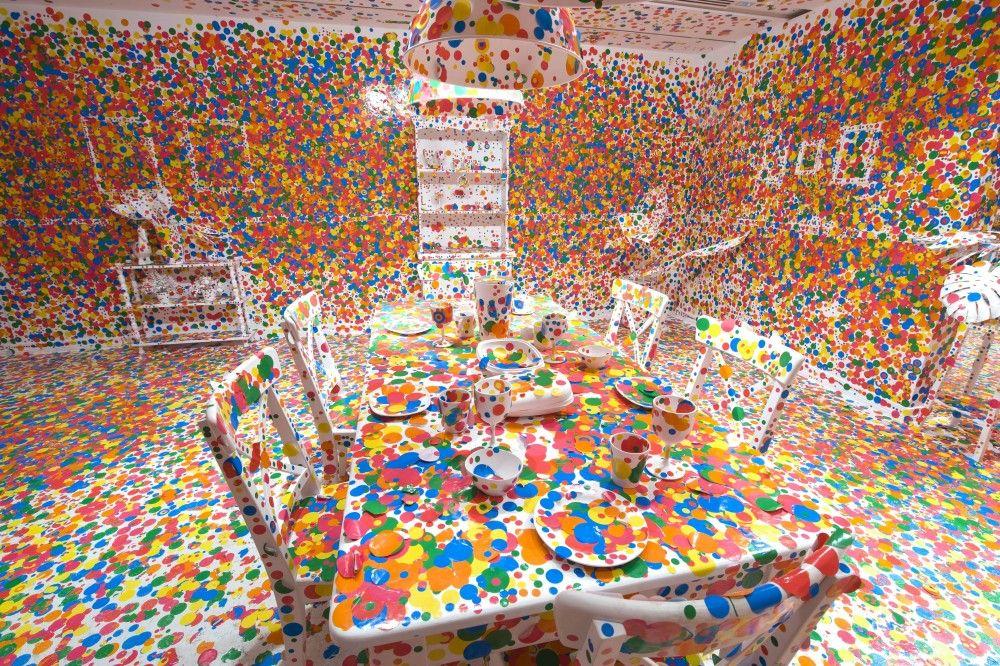 Más de 16 mil personas visitan exposición de Yayoi Kusama - Internet