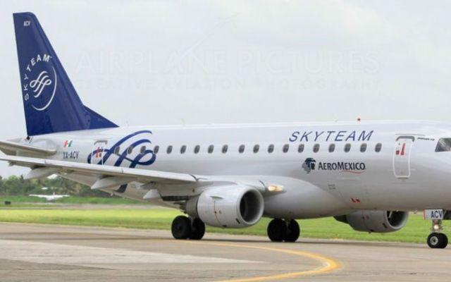 Aeroméxico lanza ruta Monterrey-Nueva York - Foto de Planespotters