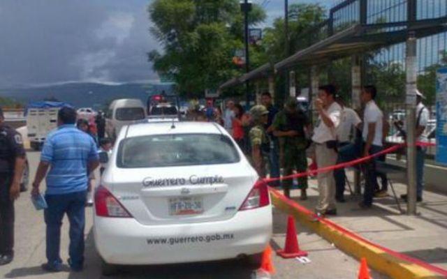 Tres lesionados por balacera frente a Palacio de Gobierno en Chilpancingo - Foto de @reformanacional