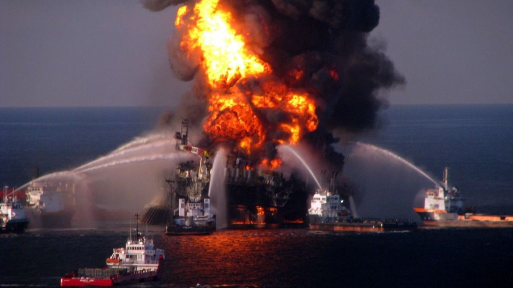 Empresa pagará mil 100 mdd por derrame de crudo en Golfo de México - internet