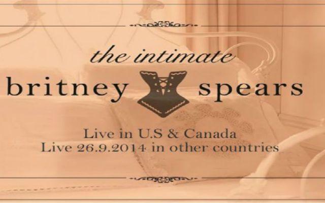 Britney Spears enviará colección de lencería a Kate Middleton - Foto de Intimate Britney Spears
