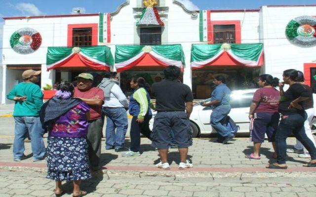 Toman palacio municipal de Xoxocotlán en Oaxaca por falta de obras - Foto de Quadratín
