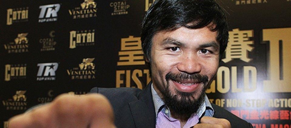 Manny Pacquiao interpreta tema de Frozen - Foto de Internet