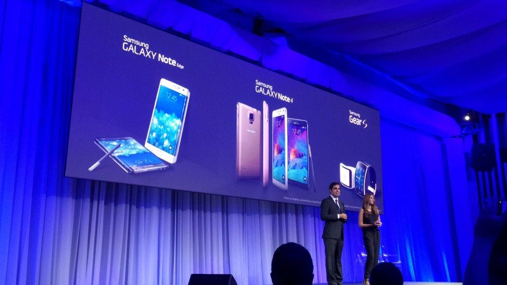 Samsung presenta sus nuevos smartphones y smartwatch - cortesía