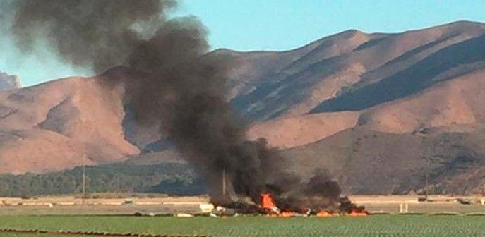Accidente aéreo en California deja un muerto - Foto de AOL
