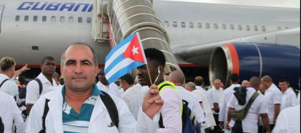 Llegan médicos cubanos a combatir el ébola en Liberia - Foto de WHO