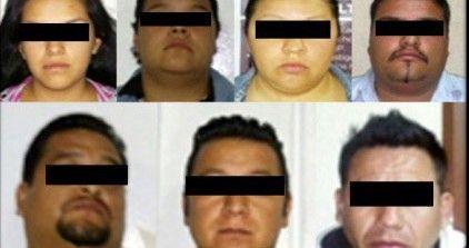 Detienen a 7 de la Familia Michoacana en Edomex - Foto de Quadratín