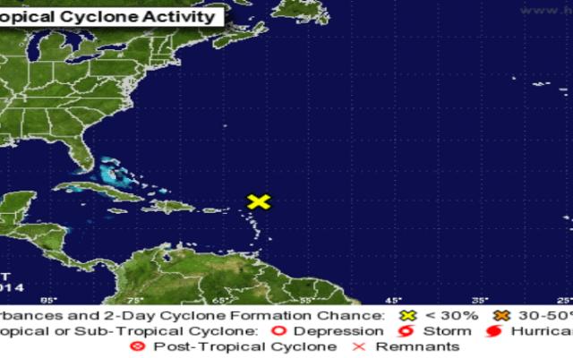 Floja temporada de huracanes en el Atlántico - Foto de la NOAA