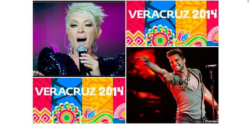 Ricky Martin y Yuri inaugurarán los Juegos Centroamericanos en Veracruz - Foto de El Universal