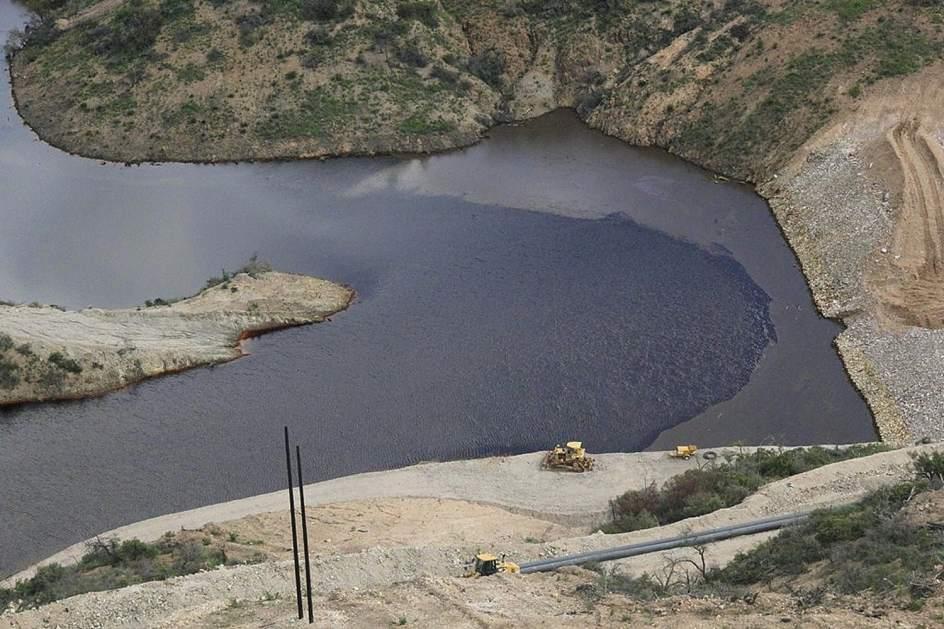 """Atiende CNDH denuncia por derrame tóxico en mina """"Dos Señores"""" - Foto de 20minutos.com.mx"""