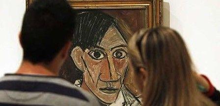 Exhiben autorretratos de Picasso y Bacon - Foto de El Mercurio