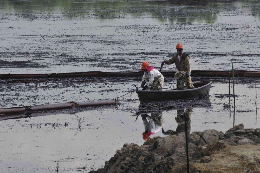 Reportan derrame de crudo en aguas de Oaxaca - Internet