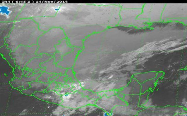 El frente frío número 11 afectará a gran parte del país - Foto de Servicio Meteorológico Nacional
