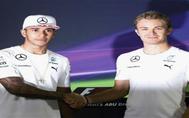 Hamilton 1ro y Rosberg 2do en prácticas de Abu Dabi - Foto de AP