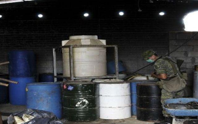 Más de 20 toneladas de sustancias químicas inhabilitadas en Michoacán - Foto de Cuartoscuro