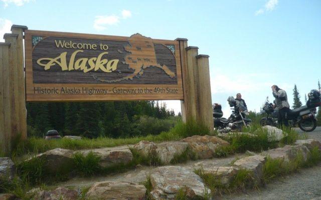 Baja el nivel de nieve en Alaska - Internet