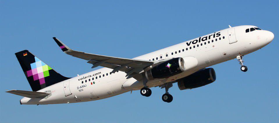 Detienen a tratante de personas en vuelo de Volaris - Foto de Planespotters