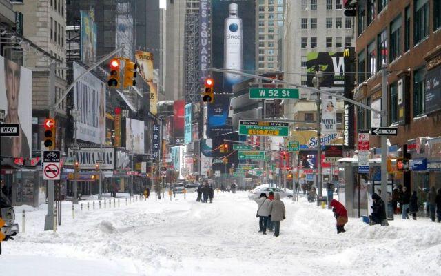 Nueva York registra 13 muertos por intensa nevada - Internet