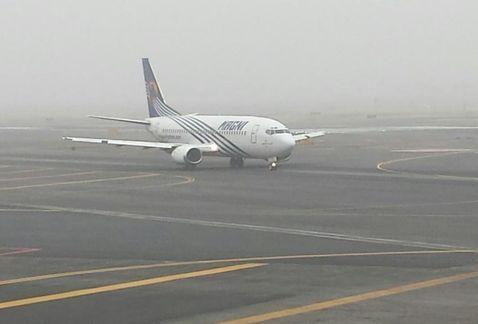 AICM reanuda operaciones tras niebla - Foto de Milenio