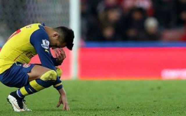Arsenal no logra remontar y pierde ante el Stoke - Foto de Internet