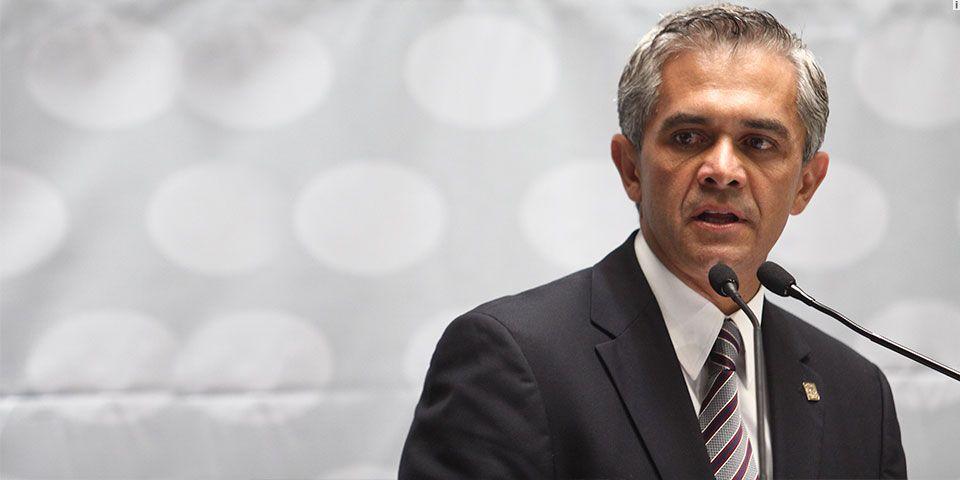 Mancera celebra aprobación de paquete presupuestal para 2015 - Foto de Huellas