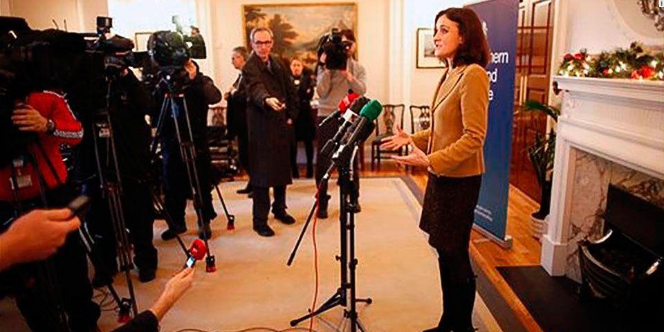 Irlanda del Norte cerca de lograr acuerdo para coalición - Foto de AP