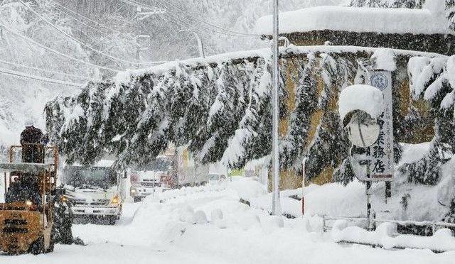 Nevadas en Japón dejan 10 muertos - The Japan News