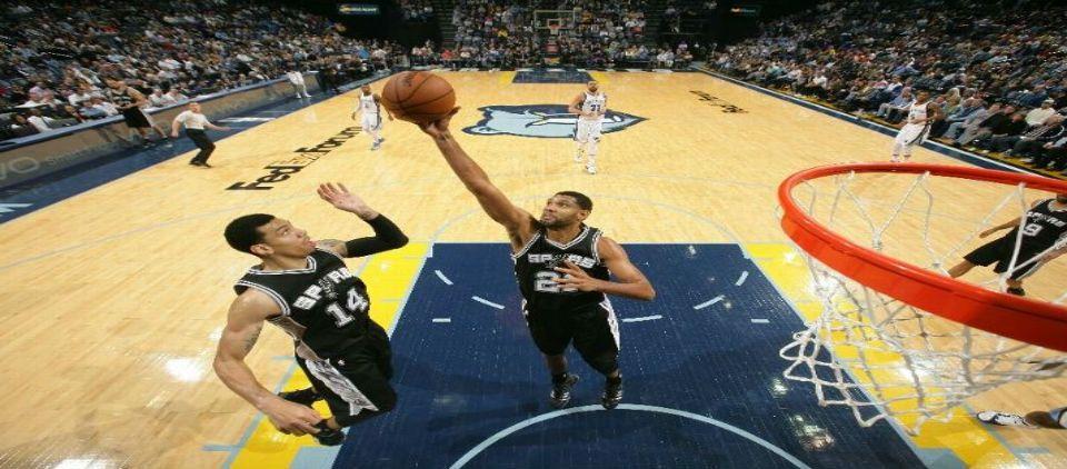 Gana Spurs con gran noche de Ginobili y Duncan - Foto de ESPN