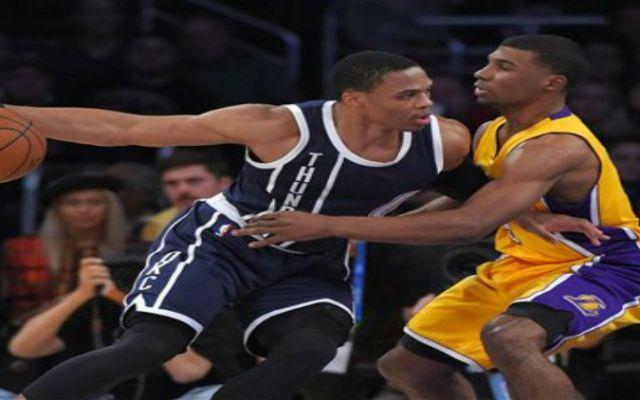 El Thunder gana sin Durant  los Lakers - Foto de AP