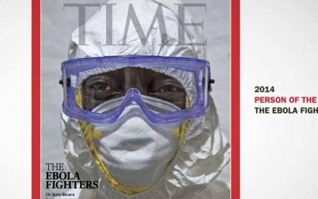 "Revista Time nombra ""Persona del año"" a combatientes del ébola - Internet"