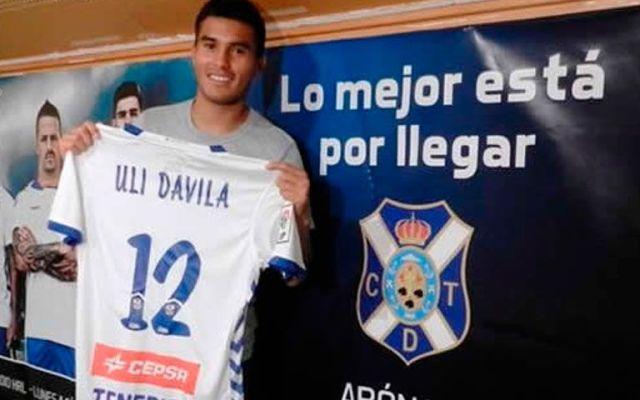 Confirman salida de Ulises Dávila del Tenerife - Foto de CNN