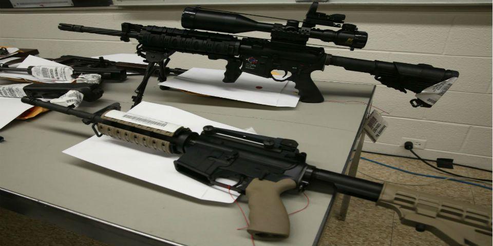 Aseguramiento de armas