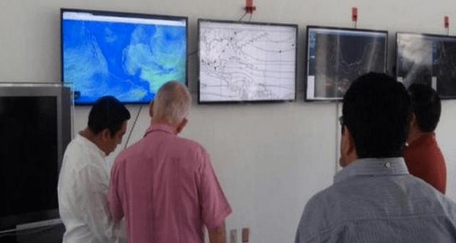 Viento obliga a suspensión de operaciones aéreas y marítimas en Chiapas - Foto de Noticieros Televisa