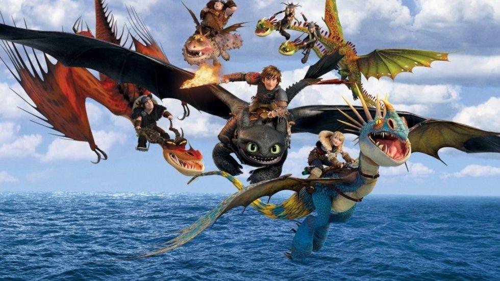 Cómo entrenar a tu dragón, película