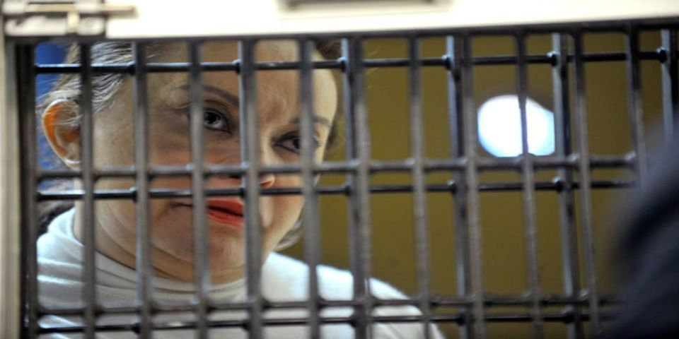 Niegan arresto domiciliario a Elba Esther Gordillo - Elba Esther Gordillo en prisión