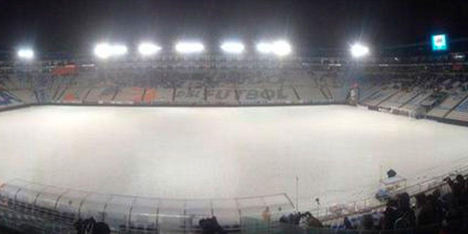 Impresionante granizada en el Estadio Hidalgo - Foto de Récord