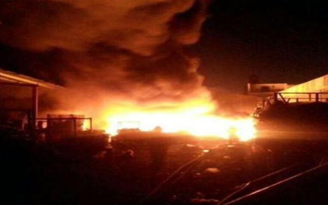 Bomberos sofocan incendio en Tlalpan - Foto ce Reforma