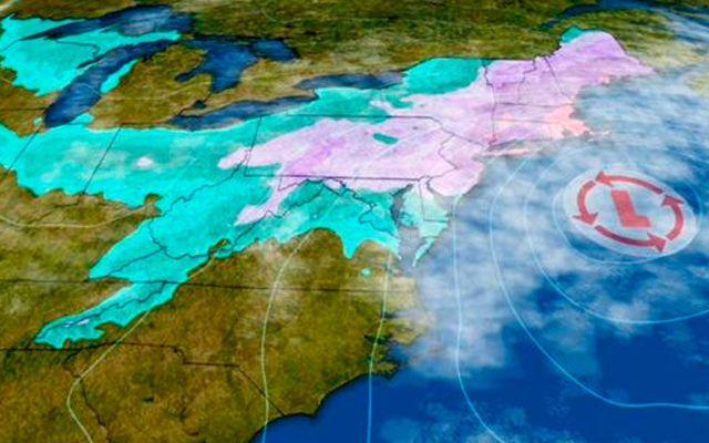 Tormenta invernal amenaza con paralizar noreste de EEUU - Tormenta invernal \