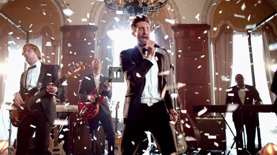 Aparece Maroon 5 en bodas reales para nuevo clip - Videoclip Sugar
