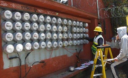 Medidores de la Comisión Federal de Electricidad