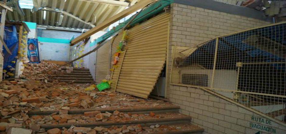 Debe continuar cerrado Mercado Contadero - Foto de @AdrianRubalcava