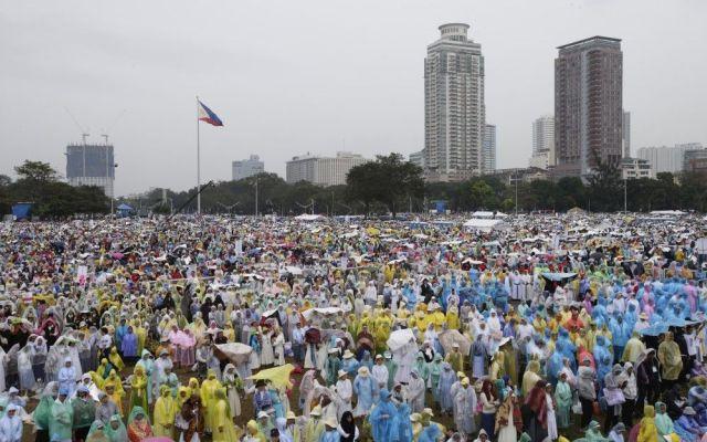Despiden en Filipinas 6 millones al Papa Francisco - Misa del Papa Francisco en Filipinas