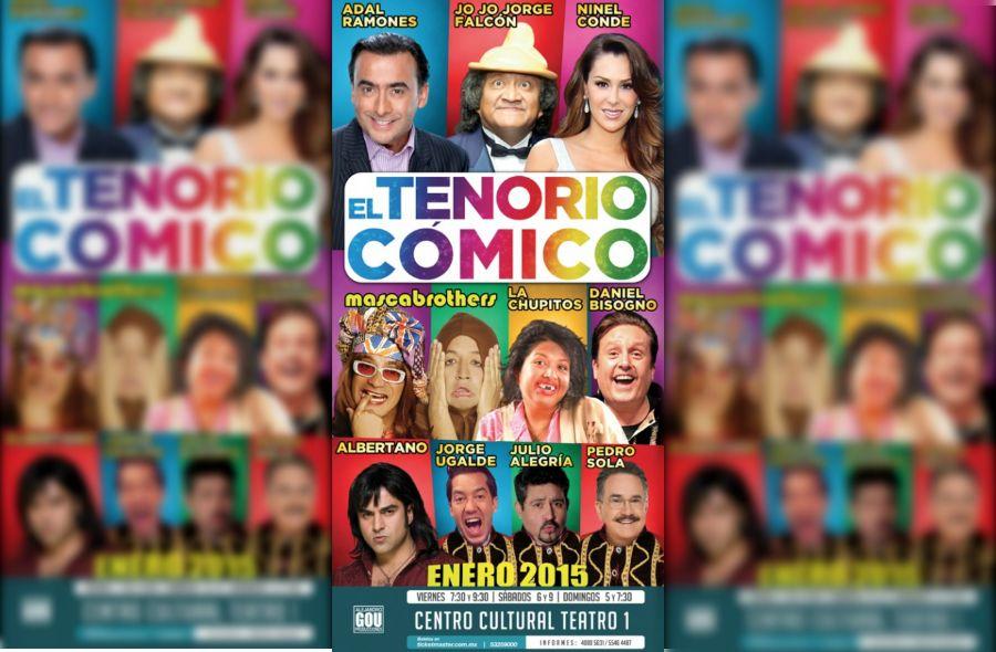 Regresa El Tenorio Cómico con Adal Ramones y Ninel Conde - Foto de Gou Producciones