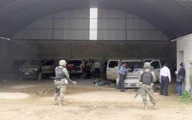 Militares obstruyeron trabajo del MP en Tlatlaya - Bodega en Tlatlaya