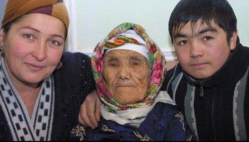 Encuentran a mujer que asegura tener 134 años - Tuti Yusupova