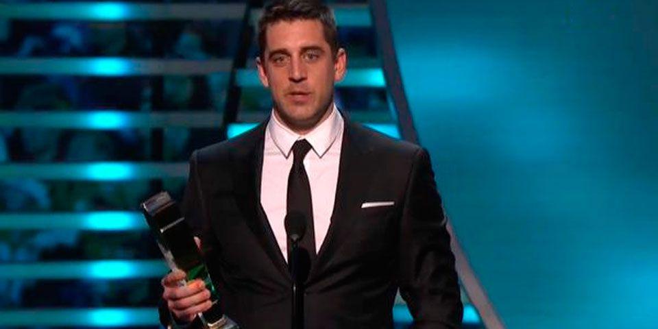 Aaron Rodgers, nombrado MVP de la temporada - Aaron Rodgers, jugador mas valioso