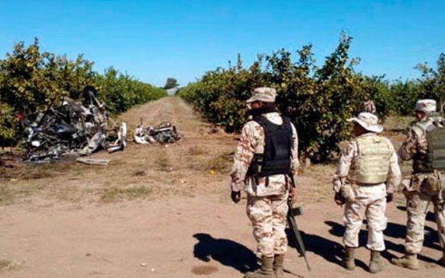 Muere piloto al caer avioneta en Sonora - Muere piloto al caer avioneta en Sonora