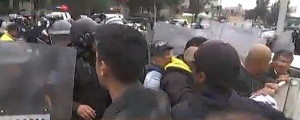 Enfrentamiento durante operativo en Eje 5 Sur - enfrentamiento