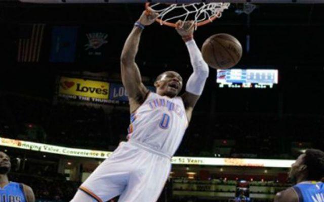 Thunder gana gracias a Westbrook - westbrook thunder_ap